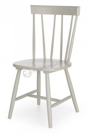 Szare Krzesło Do Kuchni Charles Styl Retro Halmar