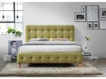 Tapicerowane łóżko do sypialni 160x200 Alice Signal