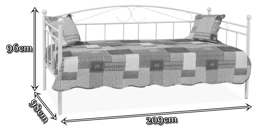 Łóżko Znkara wymiary