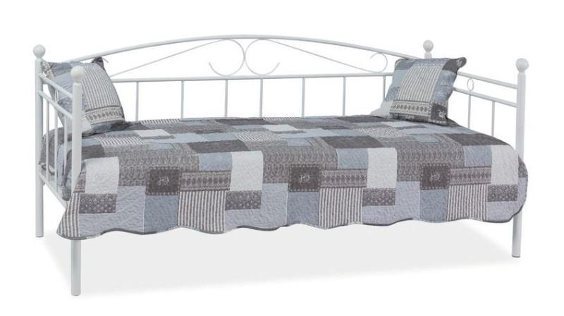 Metalowe łóżko Ankara