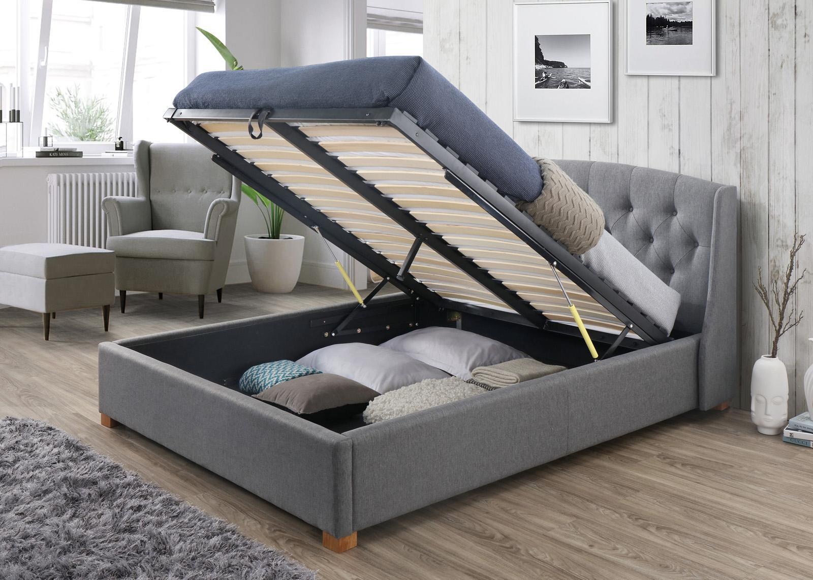 Skrzynia na pościel łóżko 160x200