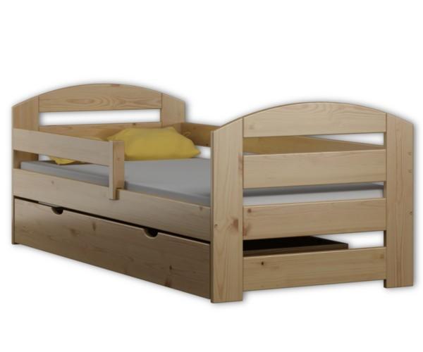 łóżko Dziecięce Z Szufladą Kami Plus 180x80 Sosna Materac
