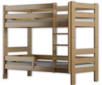 Łóżko piętrowe GAGATEK 180x80 sosna