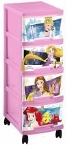 Curver Disney Princess Regał na zabawki 4x10L Komoda