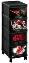 Curver Star Wars Regał na zabawki 4x10L Komoda