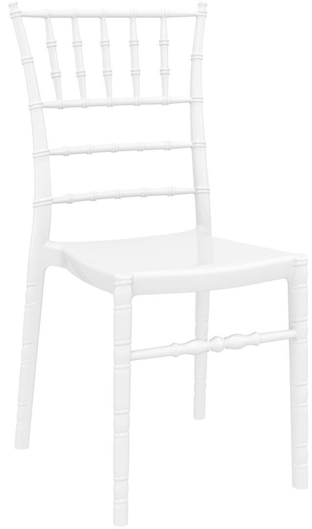 Siesta Chiavari Białe Krzesło