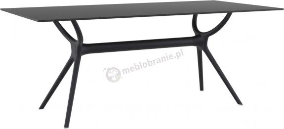 Nowoczesny stół z tworzywa Air Table 180 Black