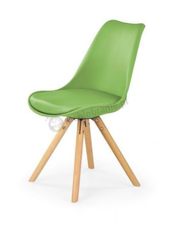Krzesło Do Kuchni Z Plastiku K201 Halmar Zielony