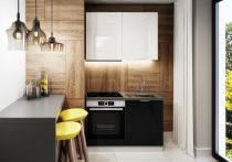 Zestaw mebli kuchennych AKRYLIC 120cm / 4 elementy