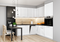 Narożny zestaw mebli kuchennych ASTON 200x220cm / 12 elementów