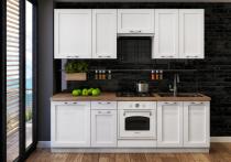 Zestaw mebli kuchennych ASTON 240cm / 8 elementów