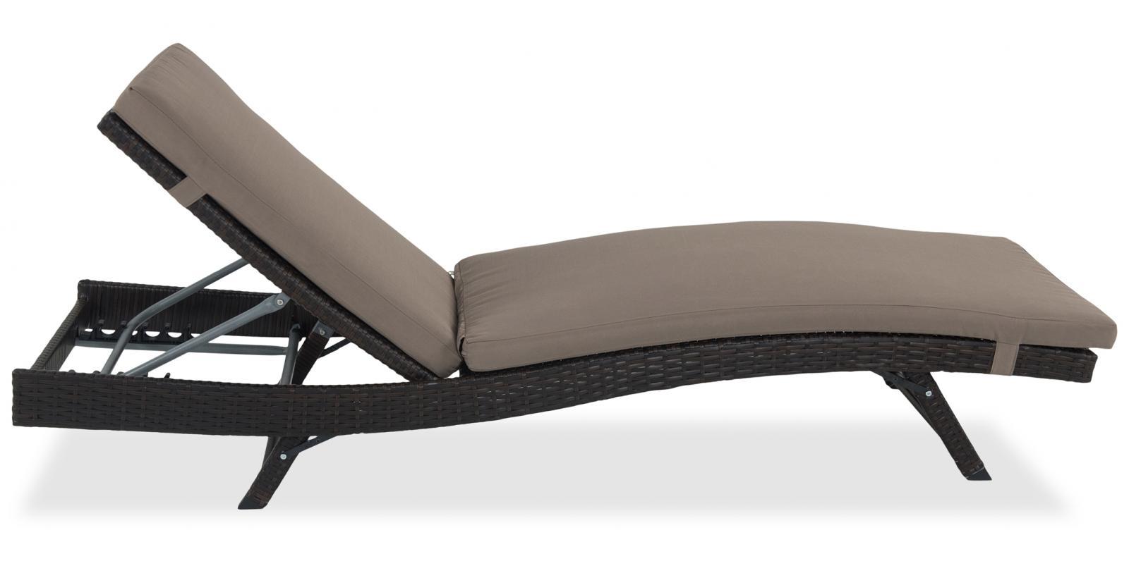 Leżak Nilamito z boku