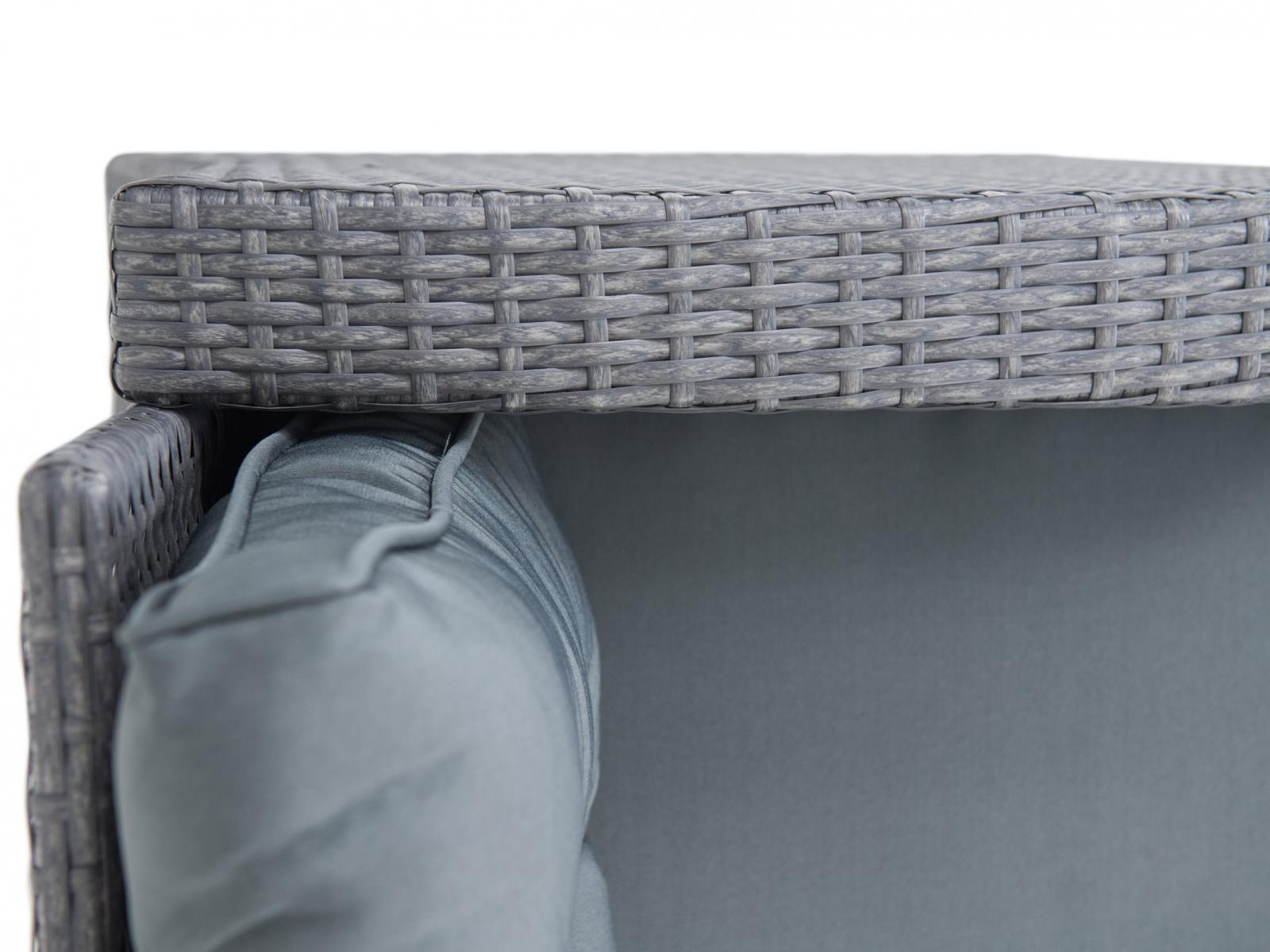 Topiano Antracite - poduszki ze zdejmowanymi pokrowcami