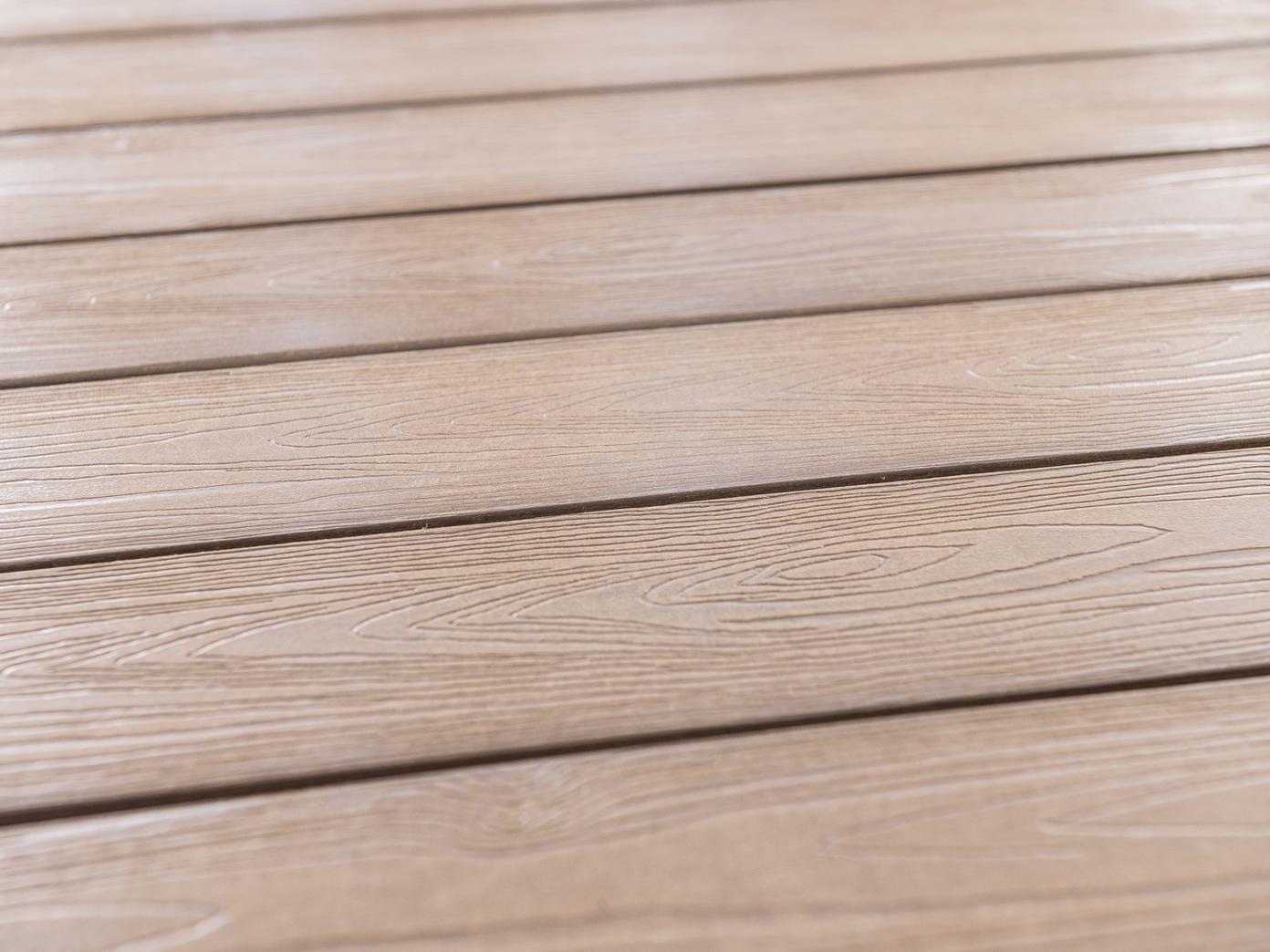 Capri dining beige narożnik z technorattanu - blat
