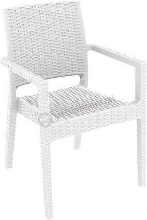 Siesta Ibiza White Białe Krzesło Ogrodowe