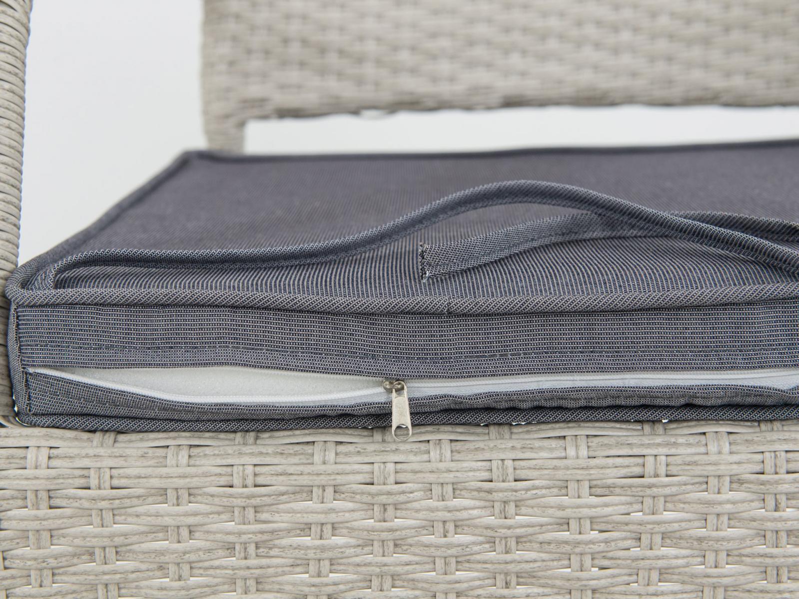 Primo/Lautaro grey zestaw obiadowy  - plecionka