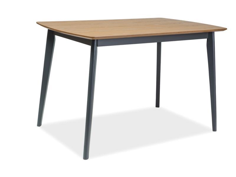 Stół Do Salonu Z Drewnianym Blatem 120cm Signal Vitro