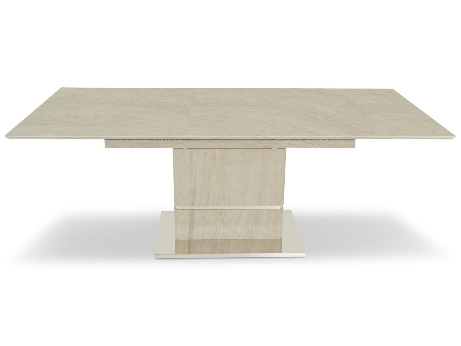 Stół rozkładany - bielone drewno