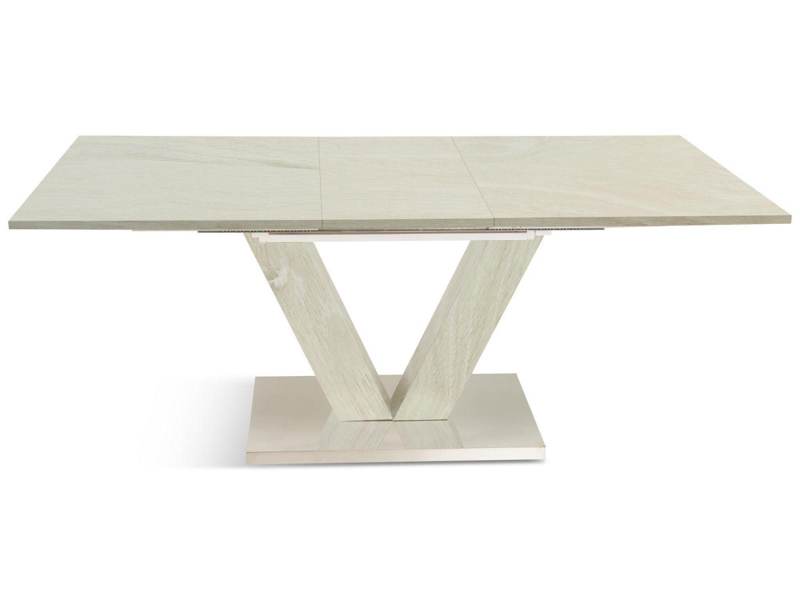 Stół rozkładany - drewno bielone