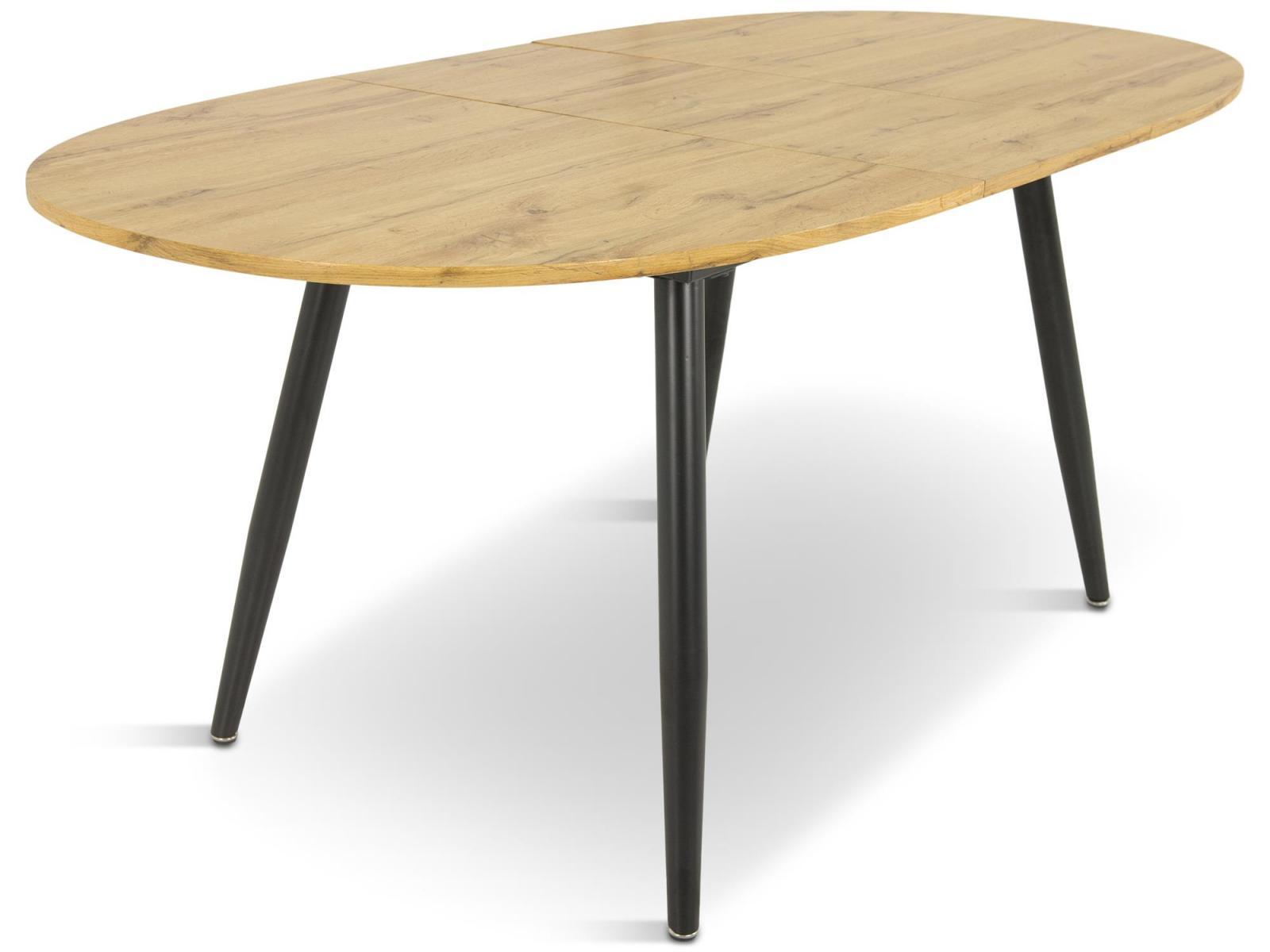 Rozkładany stół owalny Carmelo