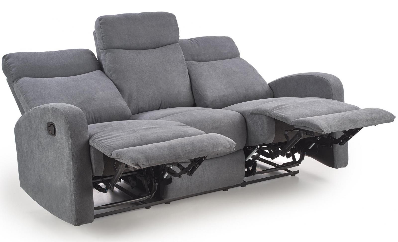 Sofa OSLO 3-osobowa z funkcją relaksu