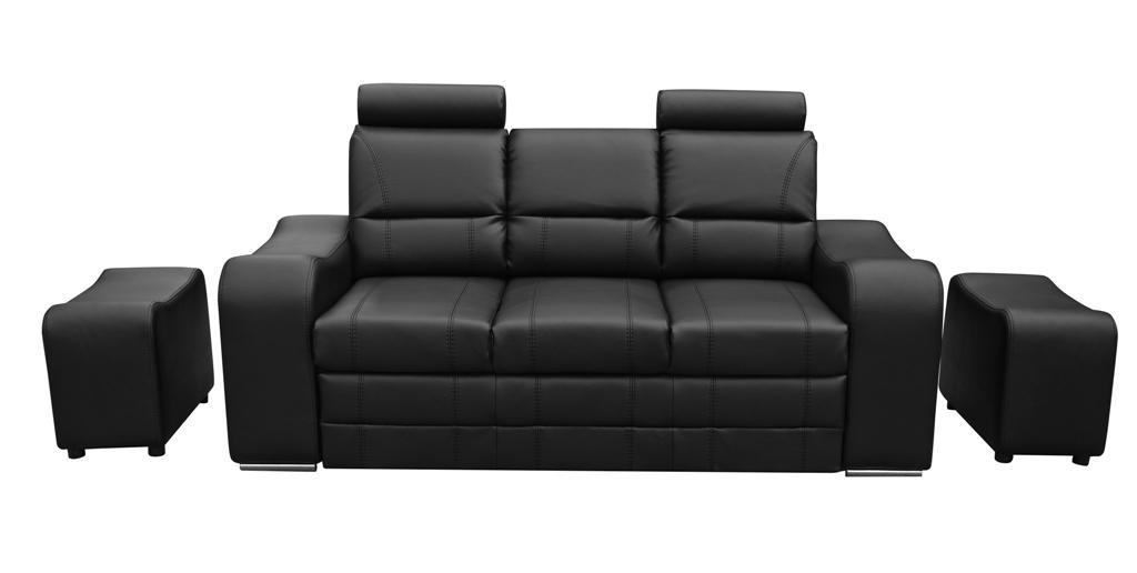 Sofa Wenus z dodatkowymi pufami