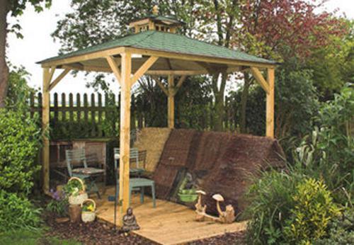 Pavilon Canopy Lindrick z drewna bez podłogi sklep internetowy