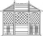 drewniana altana Carleton opinie, ceny