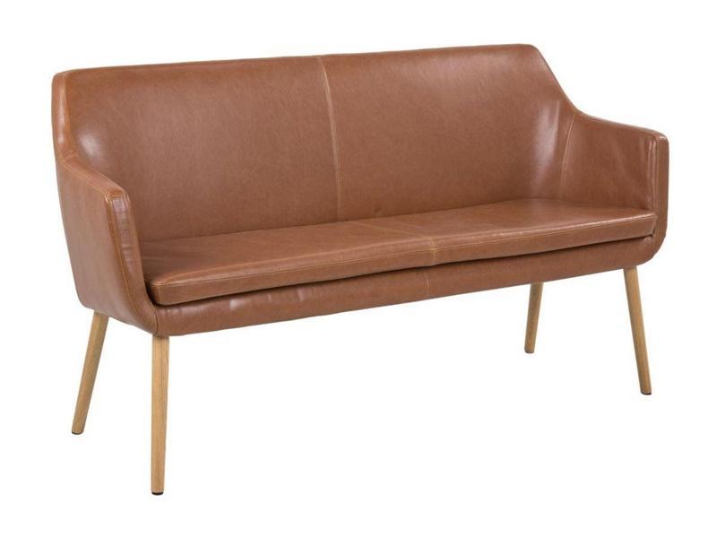 Sofa nora na wysokich nogach