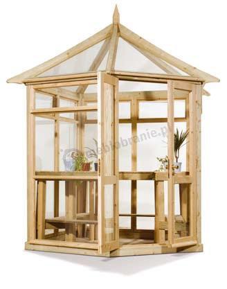 drewniana Szklarnia Corner Victorian średnia Ø 235 5 400,00 zł cena sklep internetowy