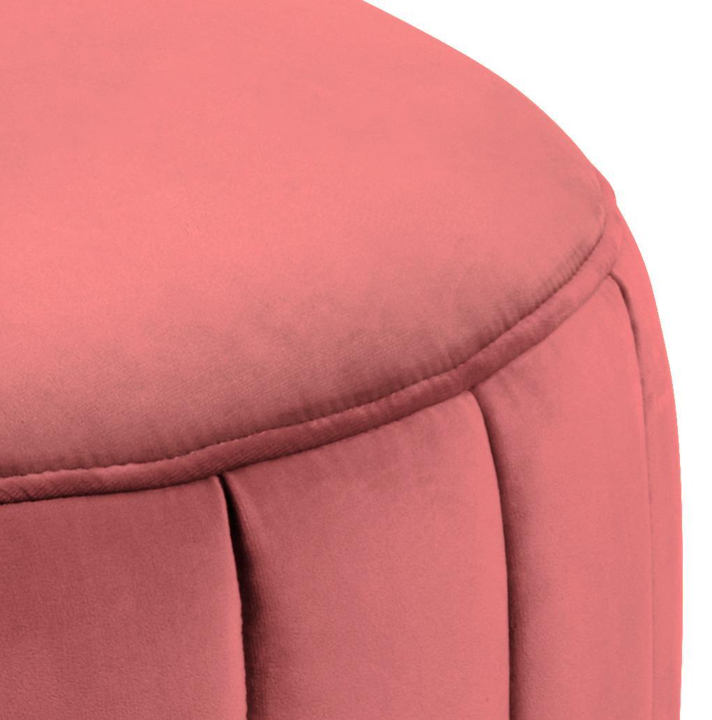 różowa pufa Actona