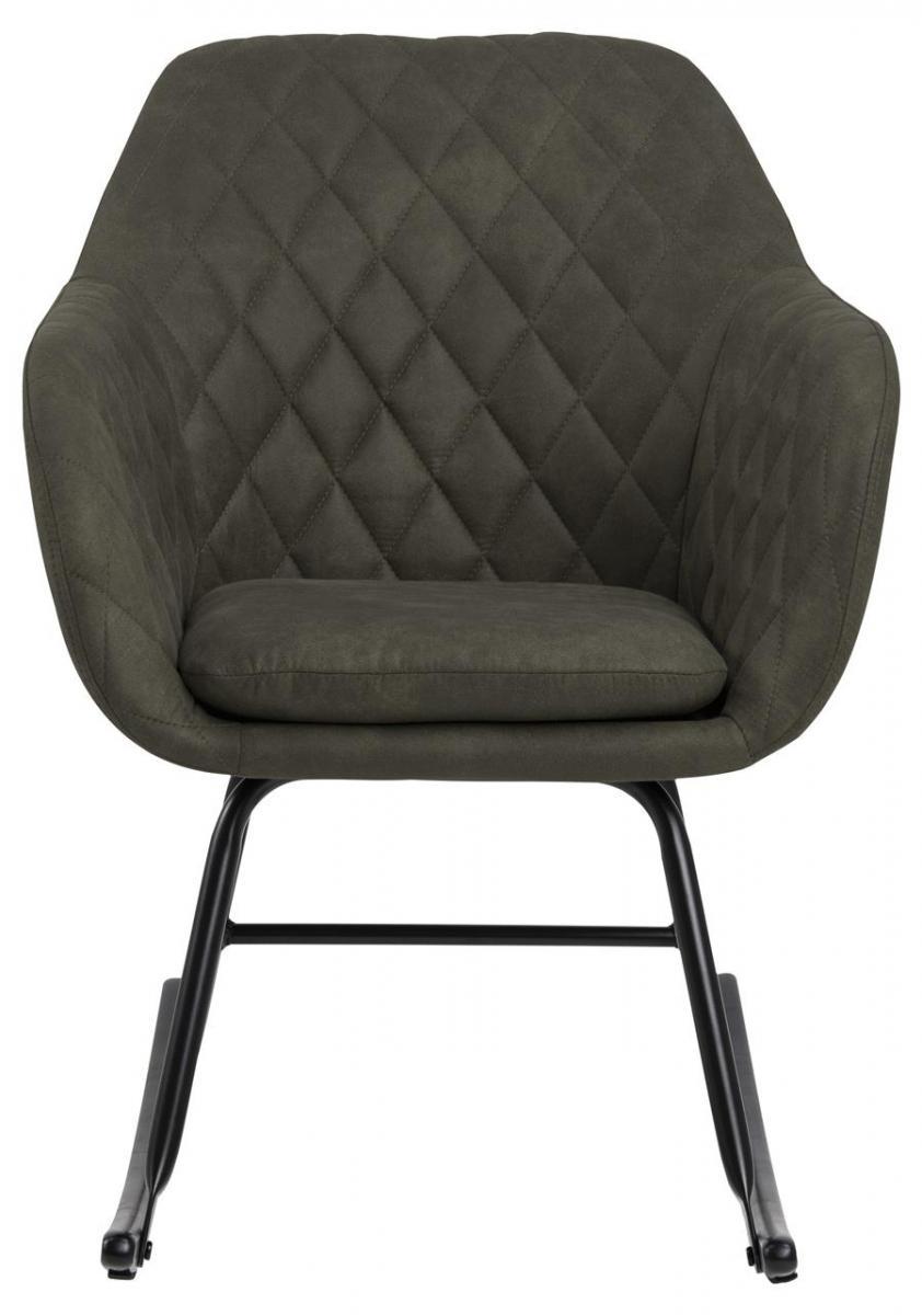pikowany fotel bujany