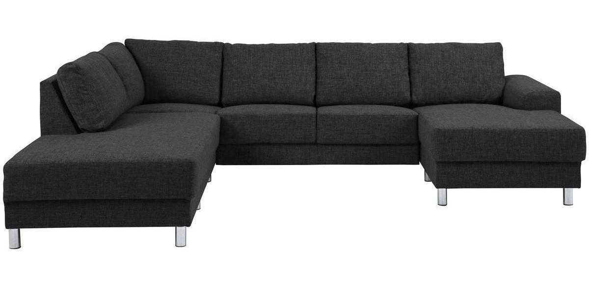 Sofa narożna Actona Calverton ciemnoszara