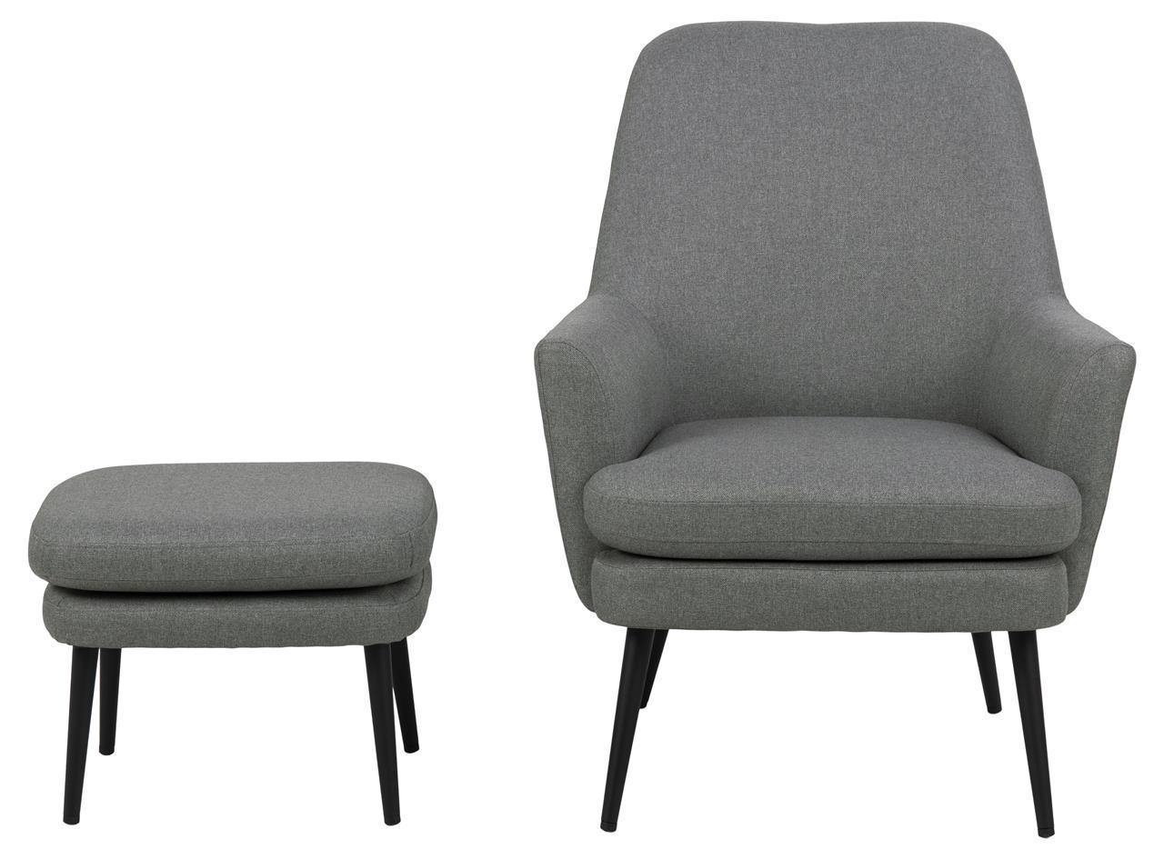 fotel z podnóżkiem Actona