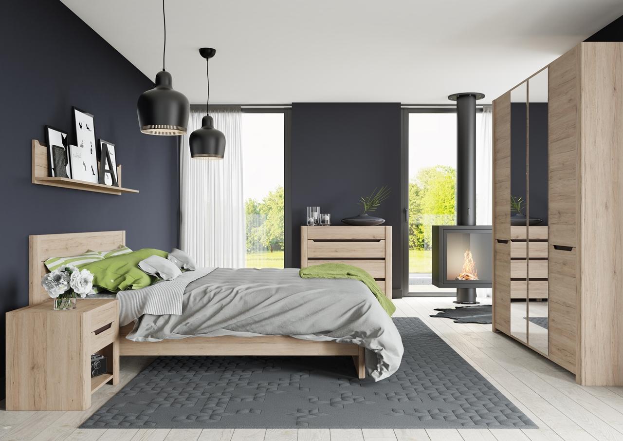 szafka nocna w sypialni