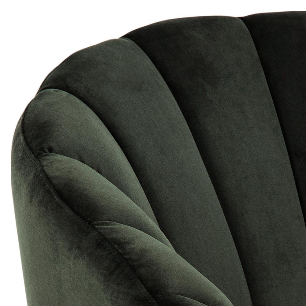 Actona Daniella fotel tapicerowany glamour - zbliżenie