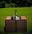Zestaw mebli ogrodowych Delizioso