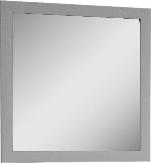 lustro szare kwadratowe do przedpokoju