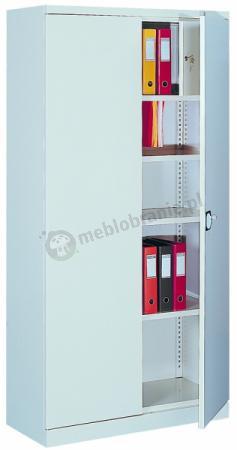 Szafa biurowa metalowa z drzwiami skrzydłowymi 204 213