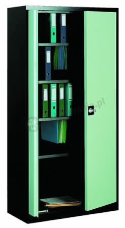 Szafa biurowa metalowa z drzwiami chowanymi 210