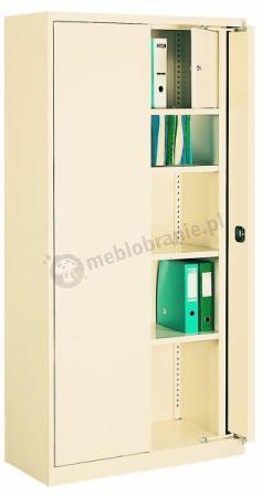 Szafa biurowa metalowa z drzwiami chowanymi 211