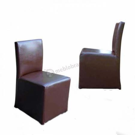 Krzesło pełne 84cm Eko-skóra