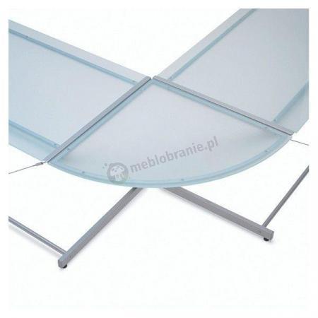 Narożnik biurka Z-line chrome