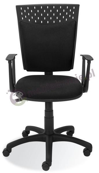 Nowy Styl Stillo 10 gtp krzesło ażurowe obrotowe czarne