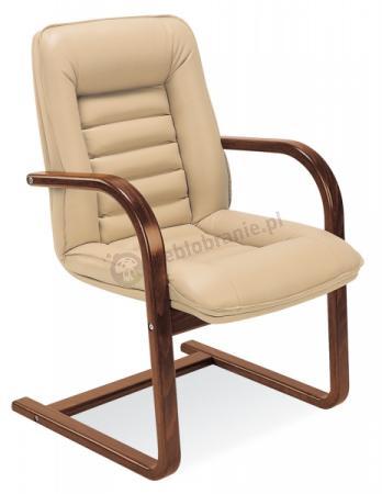 Fotel z drewnianymi podłokietnikami Zorba Extra cfn/lb sklep internetowy