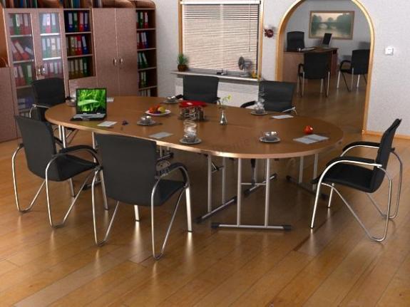 Stół składany 4 częściowy
