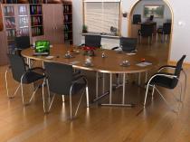 Stół konferencyjny składany 4 częściowy