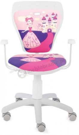 Fotel Ministyle Cartoons GTP TS22 Princess krzesło do biurka dziecięce