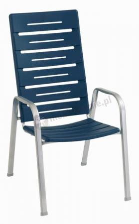 Krzesło Alpha Platynowo - Niebieskie opinie, cena