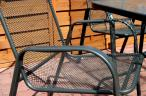 Krzesło metalowe Antonio
